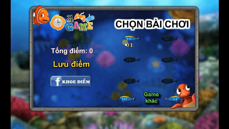 Trò chơi bắn cá hay nhất trên game 24h