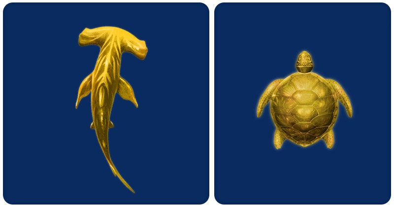 Hai hung thần đại dương - Jackpot cá mập vàng và rùa vàng