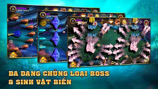 Hàng trăm chủng loại boss trong bắn cá hải tặc
