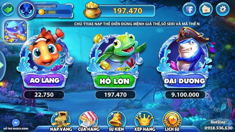 game bắn cá đổi thưởng