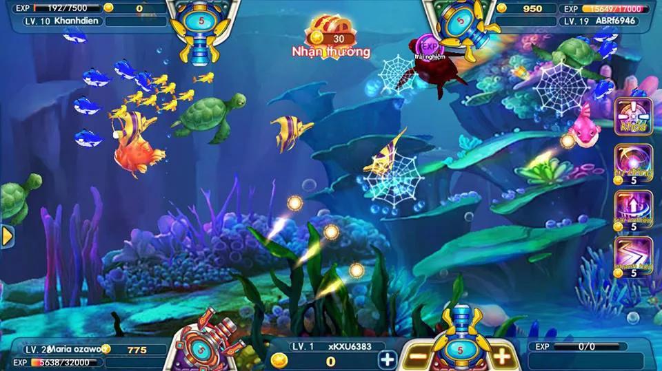 bắn cá casino fishing master