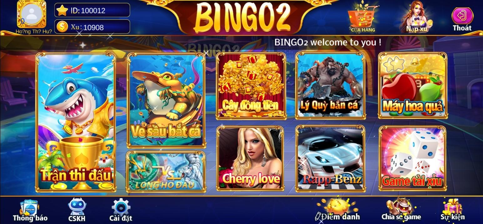 bắn cá bingo2