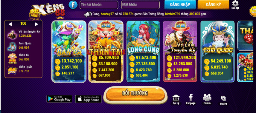 game xeng88 club